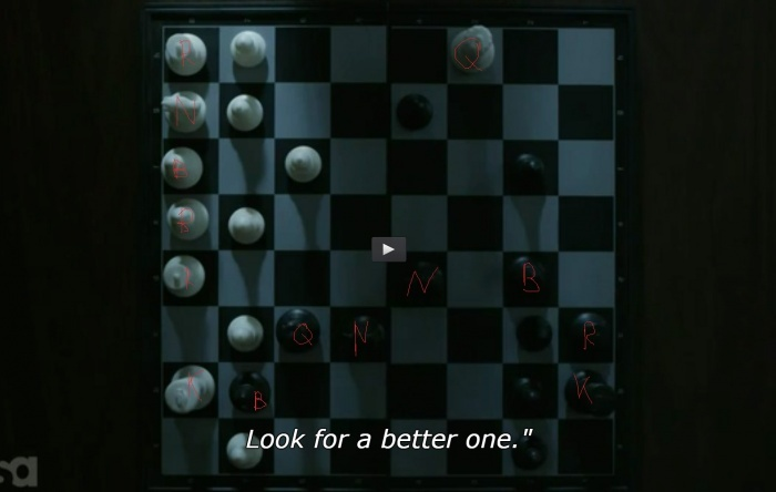 MR.ROBOT - S02E07 Chess Game Found!