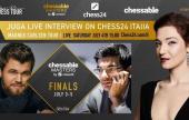 Juga Di Prima ospite a chess24 ITALIA