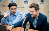 Kandidatenturnier, 8. Runde: Karjakin holt auf