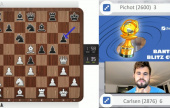 Carlsen through, Eljanov out | Banter Blitz Cup