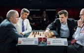 Carlsen and Kasparov in clash of the GOATs