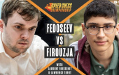 Fedoseev shocks Firouzja in Speed Chess