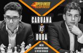 Duda blows Caruana away in bullet chess