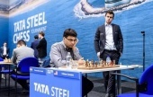 Tata Steel 2018, 3: Vishy wins a beauty