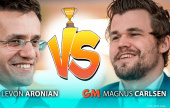 Carlsen-Aronian and So-Le in the semi-finals