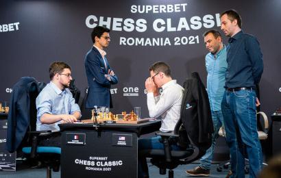 Superbet Chess Classic 6:Грищук и Мамедьяров уходят в отрыв