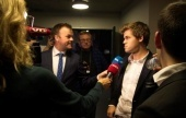 Berlin World Rapid, Day 2: Carlsen hits the front