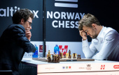 Norway Chess 9: Caruana spoils Carlsen's day