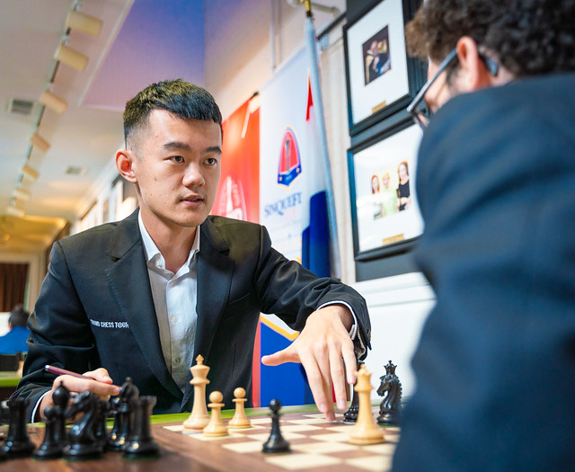 Sinquefield Cup 9: Ding and Nepo break clear | chess24 com