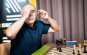 Chess 9LX, Day 3: Caruana beats Kasparov