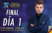 Opera Euro Rapid (SF 2): ¡Otra final Carlsen - So!