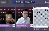 Chessable Masters 7: Le survives Aronian comeback