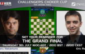 Nakamura vs. Rosen in the Choker Cup final