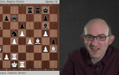AlphaZero on Carlsen-Caruana Games 9-12