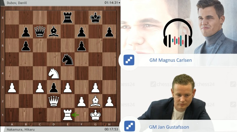 45e522f60652d Moscow GP, QF 1: Magnus on match strategy | chess24.com