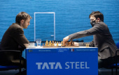 Tata Steel 5: Grandelius beats MVL to regain sole lead
