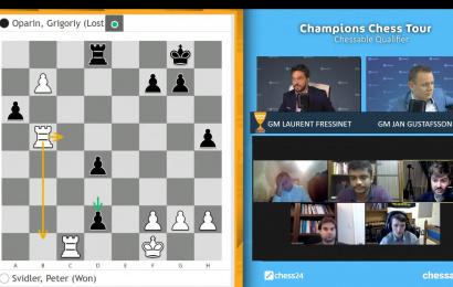 Chessable资格赛:斯维德勒胜出 入围冠军巡回赛