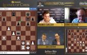 Legends of Chess R4: Carlsen knuste Gelfand