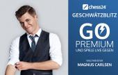 Geschwätzblitz mit Magnus Carlsen
