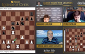 chess24 Legends 11: Carlsen in final | Giri hits back