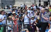 Trafalgar Squares: 6,000 people turn out for London's ChessFest