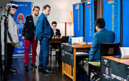 Sinquefield Cup, 1: Aronian & Mamedyarov lead