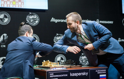 Alexander Grischuk on the FIDE Candidates