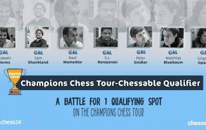 Chessable Qualifier - ein wichtiger Platz in der Champions Chess Tour