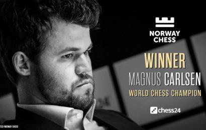 Magnus Carlsen gana su 4º Norway Chess