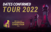 2022 Meltwater Champions Chess Tour dates announced