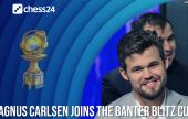 Magnus Carlsen tops Banter Blitz Cup billing