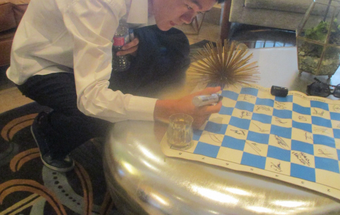 Thrill of a Lifetime to Play Ding Liren