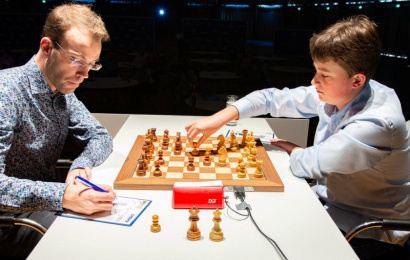 GRENKE Chess 5: 14-year-old Keymer grabs 1st win