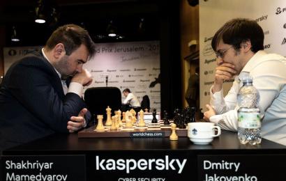 Jerusalem GP R1 Tiebreaks: Mamedyarov falls