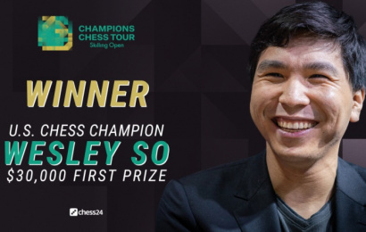 Wesley So crashes Carlsen's 30th birthday party to win the Skilling Open