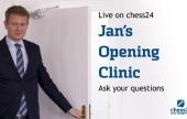 El Consultorio de aperturas de Jan 3