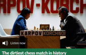'The dirtiest chess match in history': Stean on Karpov-Korchnoi, 1978