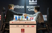 Norway Chess 1: Carlsen shows Caruana who's boss