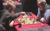 Kasparov & Carlsen to play for 1st time in 16 years
