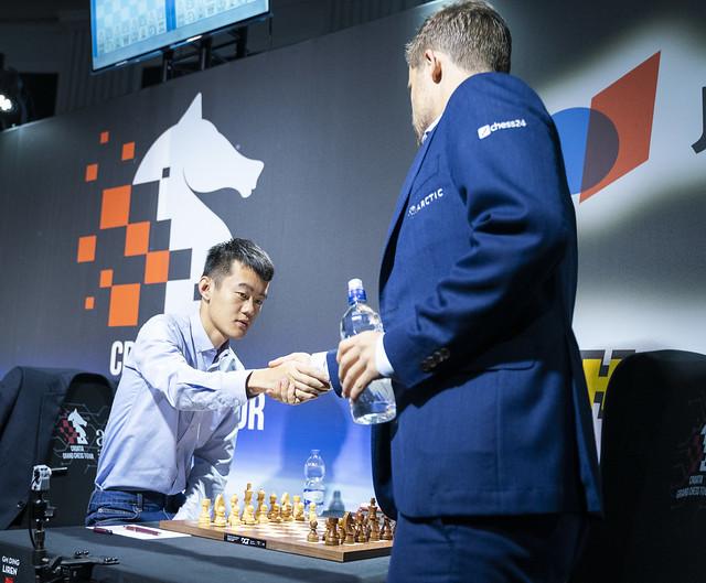 "b25f4623 Croatia GCT 8: Carlsen's ""special"" win over Ding | chess24.com"