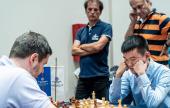 Magnus y Ding Liren capturan la atención en el Europeo de Clubes