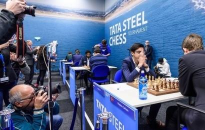 Tata Steel 2018 (3-4): Anand y Giri encabezan la tabla