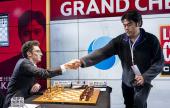 London GCT Final 1: Caruana can't catch Carlsen
