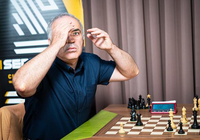 Chess 9LX, Day 3: Caruana beats Kasparov | chess24 com