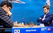 Tata Steel 9: Carlsen teaches Firouzja a lesson