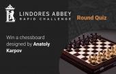 赢取卡尔波夫设计的国际象棋棋盘!